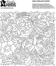 Flow Leather Carving, Leather Art, Leather Design, Leather Tooling, Saddle Leather, Wood Carving Patterns, Carving Designs, Images Noêl Vintages, Leather Working Patterns