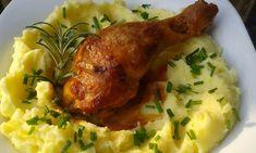 Czech Recipes, Ethnic Recipes, No Salt Recipes, Mashed Potatoes, Good Food, Food And Drink, Menu, Treats, Chicken