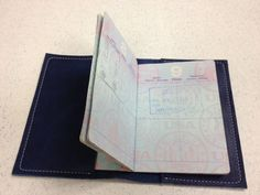 passport book cover by NomadLeatherwork on Etsy, $44.00