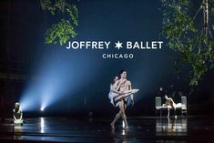 The Joffrey Ballet   Midsummer Night's Dream   Photo of April Daly and Fabrice Calmels with Anna von Hausswolff and Temur Suluashvili by Cheryl Mann