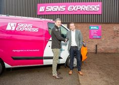 Signs Express Opens New Centre in Macclesfield - BSGA - British Sign & Graphics Association