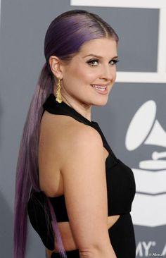 Kelly Osbourne ponytail