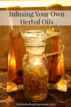 Choosing the right Carrier Oil for your Handmade Remedies. | The Herbal Healing Mama