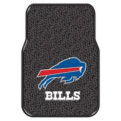 Buffalo Bills NFL Car Front Floor Mats (2 Front) (17x25)