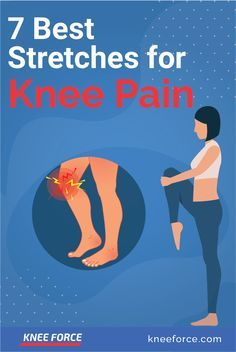 Stretches For Knees, Yoga For Knees, Good Stretches, Knee Arthritis Exercises, Knee Strengthening Exercises, Stretching Exercises, Facitis Plantar, How To Strengthen Knees, Knee Pain Relief