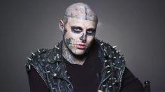 [Blushes] he's perfection I swear Rick Genest, Hair Tattoos, Tatoos, Men Aint Shit, Skull Face Paint, Pleasing People, Tattoo People, Tumblr, Tattoo Blog
