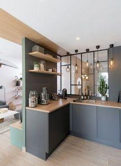 Trendy Home Studio Apartment Cuisine Ideas Architecture Portfolio, Interior Architecture, Creative Architecture, Interior Design Kitchen, Kitchen Decor, Kitchen Nook, Interior Decorating, Küchen Design, House Design