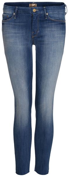 Jeans THE LOOKER ANKLE FRAY von MOTHER