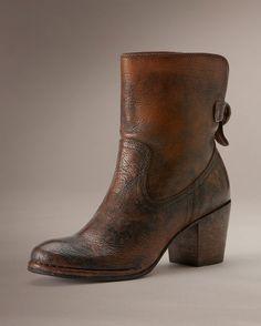 Women's Lucinda Short Boot - Cognac