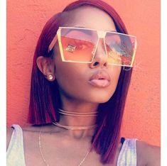 9aa78c9b04 Emosnia 2017 Trend Square Sunglasses Women UV400 Clear Sunglass Brand  Designer Unisex Sun Glasses Hexagon Metal Frame Men Shades