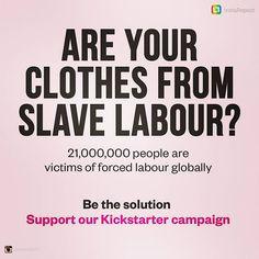 #sustainablefashion #modernslavery #fashionsustainability Forced Labor, Sustainable Fashion, Photo And Video, Instagram