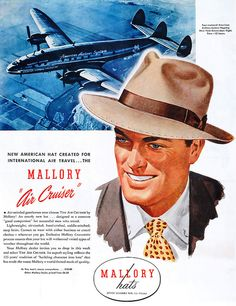 Mallory Hats  (1946) by x-ray delta one, via Flickr
