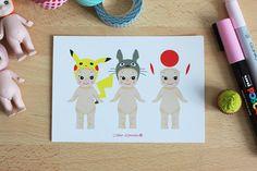 Carte - Sonny Angel x Japan Geek