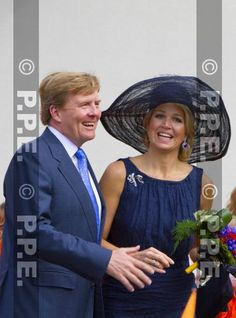The King Willem-Alexander and Queen Maxima of the Netherlands were visiting the province of Limburg