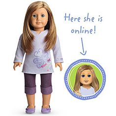 American Girl doll I got my hair cut like hers