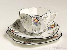 .A beautiful Shelley china 3 piece set.