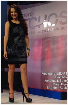 Look del día de @celidamagana by Sears, Amanda's Salon y Brandon Rubio #AsíSomosOnline #ElSalvador #Look #Moda #Belleza #CélidaMagaña #RoxanaWebb