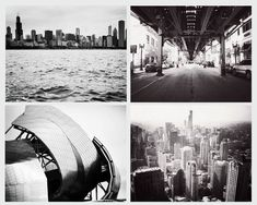 Black and White Chicago photography, Chicago art by JourneysEye