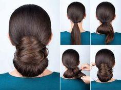 10. Elegant Twisted Bun