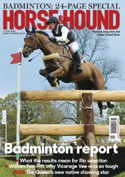 This week we have the Badminton Report with full anaylses, comments and lots of thrills and spills, find out what else inside at http://www.horseandhound.co.uk/publication/horse-and-hound-magazine