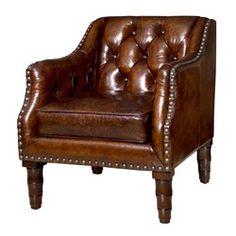 'Osborne Club Chair, Brown