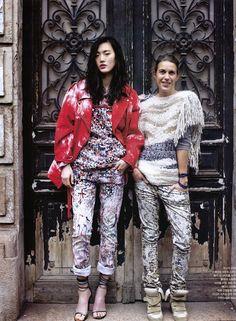 Isabel Marant in Vogue Korea via the marant philes Need those shoes Bad! Korean Fashion Trends, Fashion News, Girl Fashion, Fashion Mag, Floral Fashion, Isabel Marant, Vogue Korea, Korean Outfits, Look Cool
