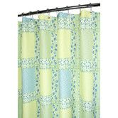 Found it at Wayfair - Watershed Prints Polyester Tulip Patchwork Shower Curtain
