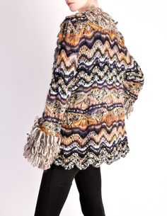 Shag sweaters are so fun and warm. Missoni Vintage. from Amarcord Vintage  Fashion d31e02904