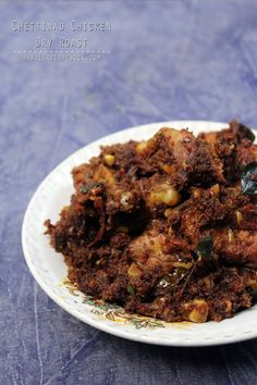 Chettinad Chicken Dry Roast - Recipe Book
