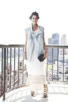 The Denim Vest | Man Repeller