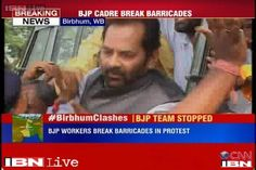 The members of the Bharatiya Janata Party's fact-finding team on the attacks on party leaders in Birbhum were on Thursday arrested and then released on bail. The team led by Mukhtar Abbas Naqvi was taken into custody just 4 km ahead of Birbhum as it tried to break barricades.