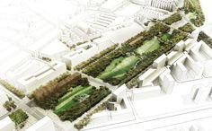 La Sagrera Linear Park design competition   Barcelona Spain   AldayJover, RCR and West 8 - St Martil Agora