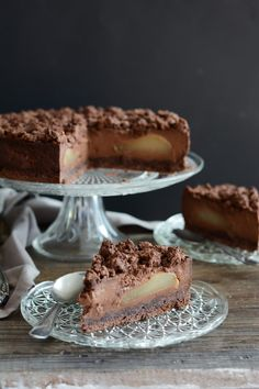 No Cook Desserts, Cookie Desserts, Chocolate Recipes, Chocolate Cake, French Food, Something Sweet, Chic Chic, Bakery, Sweets