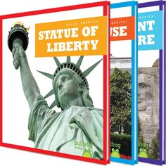 See America without leaving your chair with this exciting series for beginning readers. Engaging, easy-to-read narrative text and vibrant, full-color photos introduce young readers to some of the most important sites in the U.S.A.