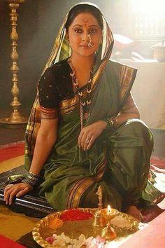 Navwari Special - Page 49 Kashta Saree, Sari, Dhoti Saree, Indian Dresses, Indian Outfits, Indian Clothes, Indian Culture And Tradition, Indiana, Nauvari Saree