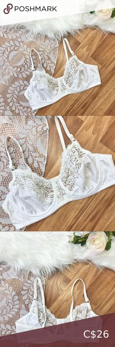 Spotted while shopping on Poshmark: Vintage white lace bra! Plus Fashion, Fashion Tips, Fashion Trends, Lace Bra, Shoulder Straps, White Lace, Trendy Outfits, String Bikinis, Originals