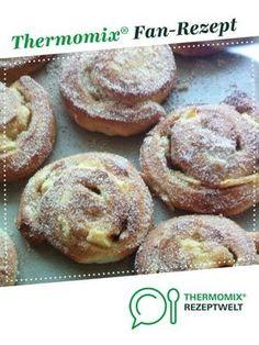 Apfelschnecken aus dem Backofen von flomaro. Ein Thermomix ® Rezept aus der Kategorie Backen süß auf www.rezeptwelt.de, der Thermomix ® Community.