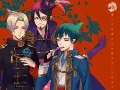 Lucifer, Mephisto and Amaimon