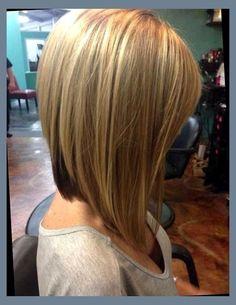 inverted long bob haircut - Google Search