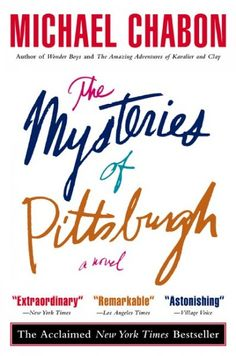 The mysteries of Pittsburgh / Michael Chabon. Read this while living and working in some of the buildings in which it was set.