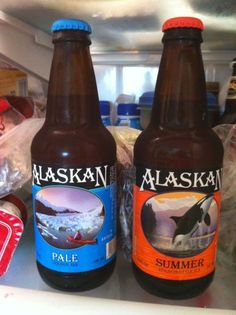 Alaskan Pale & Summer Beers, two of my favorites!! I miss them so much!