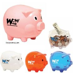 Banks and Insurance Companies will love these! Save money with this piggy bank! Great giveaway to your customers with your popular logo! Best Way To Advertise, Popular Logos, Real Estate Advertising, Youth Day, Life Insurance Quotes, Debt Repayment, Trade Show Giveaways, Piggy Banks, Central Bank