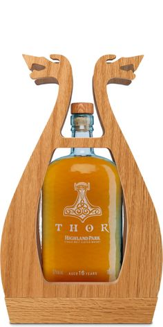 Highland Park Thor Whiskey - This packaging is extraordinary!