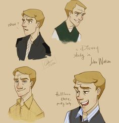 A Disney!lock study in Dr John Watson, and his obsession with the ladies…