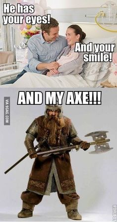 Only LOTR fans will get this