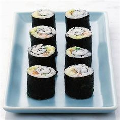 Sushi Recipes: DIY Sushi: How to make sushi
