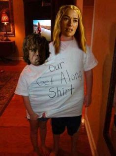 funny mine game of thrones got peter dinklage lena headey Cersei Lannister Jaime Lannister Tyrion Lannister nikolaj coster-waldau Lannister Cersei Tywin Lannister Charles Dance nice try tyrion tywin Get Along Shirt, Trauma, Game Of Thrones Funny, Jokes, Funny Memes, 9gag Funny, Memes Humor, Funny Quotes, Fandoms