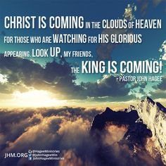 Are you ready? Who will you tell TODAY about the coming King of Kings?