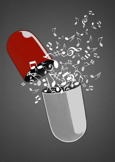 Browse by Collection - print on steel Humor daily dose music pill capsule medication surreal medicine musical notes cool - Music Drawings, Music Artwork, Cool Artwork, Music Notes Art, Music Music, Musik Wallpaper, Sad Wallpaper, Music Tattoo Designs, Music Tattoos