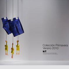 Pollos.: Display for Loreak Mendian brand by studio ja! (www.ja-studio.com).